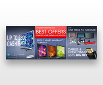 Promotional Web Banner for HIFI Conf