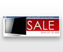 Promo Web Banner for e-Commerce HIFI Conf